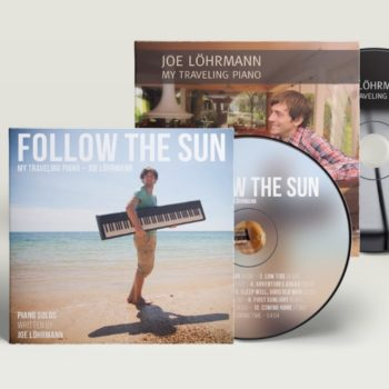 Joe Löhrmann CD-Bundle My Traveling Piano Follow The Sun Klaviermusik