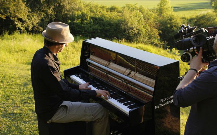 Bewegende Klaviermusik