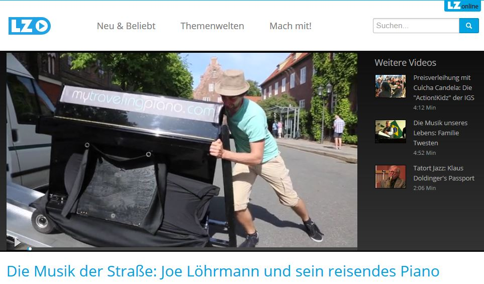 My Traveling Piano bei LZplay