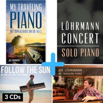 Buch und 3 CDs